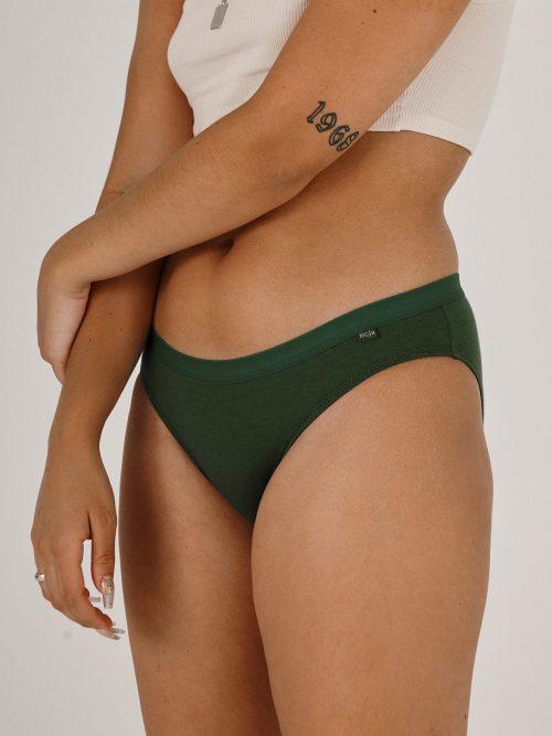 Moja Womens brief green - front