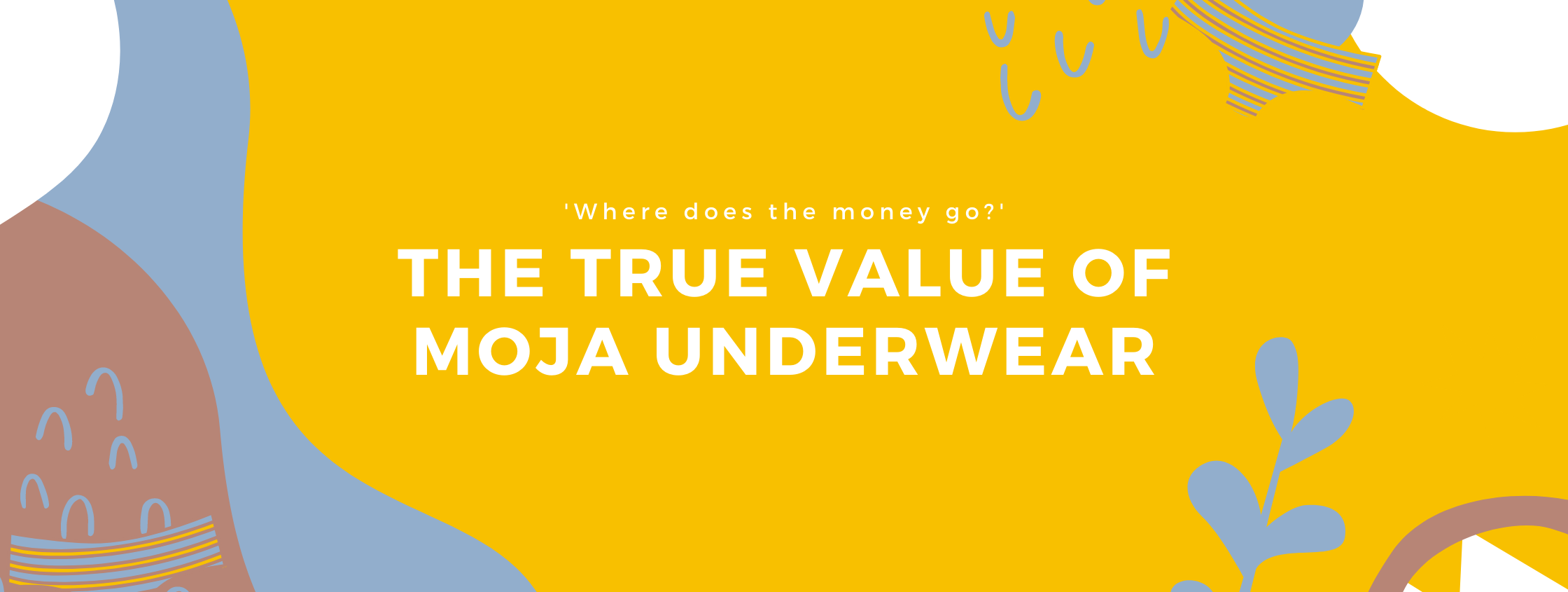The real value of Moja underwear